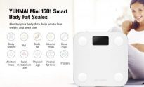 €28 with coupon for XIAOMI Yunmai Mini M1501 Bluetooth Smart Body Fat Scale from BANGGOOD