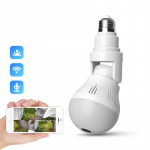 € 18 na may kupon para sa XIAOVV D5 360 ° Panorama 1080P WIFI Luminous IP Camera H.265 Dalawang-way na Audio V380 APP Control Lighting Bulb Lamp Wireless Security Surveillance Indoor IP Camera mula sa BANGGOOD