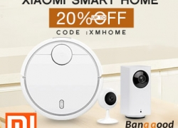 20% OFF for Xiaomi Smart Home from BANGGOOD TECHNOLOGY CO., LIMITED