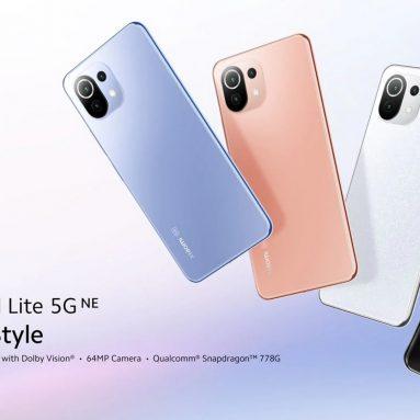 349 € cu cupon pentru Xiaomi Mi 11 Lite 5G NE Smartphone 5G Network 8GB + 128GB - Versiune UE Snapdragon 778G Octa Core 64MP Camera triplă spate 90Hz Ecran AMOLED din depozitul UE EDWAYBUY