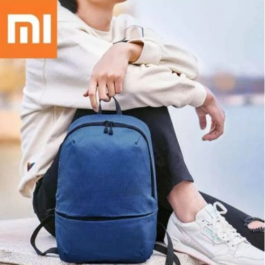 €5 with coupon for Xiaomi 11L Backpack 5 Colors Level 4 Waterproof Nylon 150g Lightweight Shoulder Bag For 14inch Laptop Camping Travel from BANGGOOD