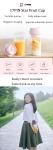 € 22 con cupón para Xiaomi 17PIN 400ML Botella Juicer Star Fruit Portátil DIY Juicing Extracter Cup Carga magnética Viaje al aire libre - blanco de BANGGOOD