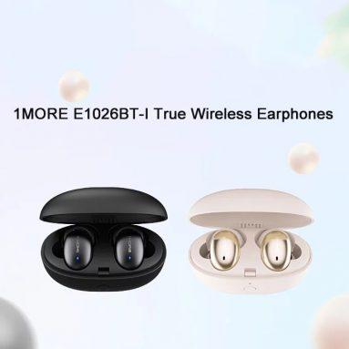 € 46 जिओमी से Xiaomi 1MORE E1026BT-I ट्रू वायरलेस इन-ईयर इयरफ़ोन के लिए कूपन