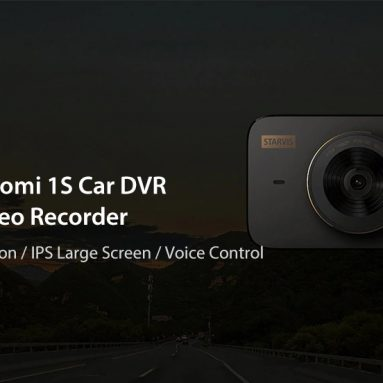 $44 with coupon for Xiaomi 1S Car DVR Global Version 140 Degree Wide Angle from GEARVITA