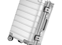 €159 with coupon for Xiaomi 20 inch Metal Travel Suitcase Universal Wheel  –  SILVER from GearBest