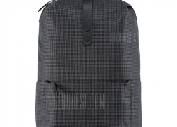 $18 with coupon for Xiaomi 20L Leisure Backpack  –  BLACK from GearBest