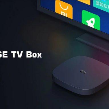 $ 46 với phiếu giảm giá cho Hộp TV Xiaomi 4SE từ GEARBEST
