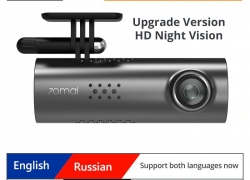 $ 41 với phiếu giảm giá cho 70mai 1S 1080P Dash Cam Smart WiFi Xe DVR - Phiên bản tiếng Anh đen từ GEARBEST