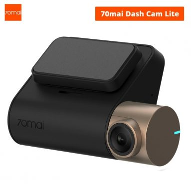 $49 with coupon for Xiaomi 70mai Dash Cam Lite Midrive D08 1080P FHD Car DVR Night Vision Parking Monitor Global Version with GPS from GEARVITA