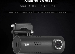 $31 with coupon for Xiaomi 70mai Dash Cam Smart WiFi Car DVR International Version from GearBest