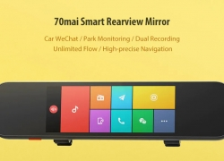 $182 with coupon for Xiaomi 70mai Smart Rearview Mirror 6.86 inch Car DVR Camera from GearBest
