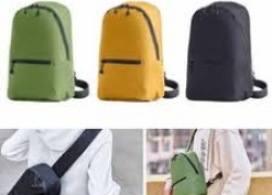€6 with coupon for Xiaomi 7L Chest Bag 3 Colors Level 4 Waterproof Nylon 100g Lightweight Messenger Bag For 10inch Laptop Outdoor Travel – Yellow from BANGGOOD