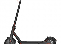 $279 flashsale for  Xiaomi 8.5 inch Tire Folding Electric Scooter ( Youth Edition )  –  BLACK from GearBest