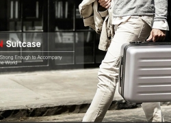 €52 with coupon for Xiaomi 90FUN PC Suitcase with Universal Wheel – BLACK 20 INCH from GearBest