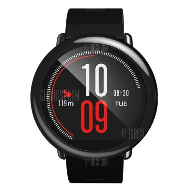 €72 with coupon for AMAZFIT Pace Heart Rate Sports Smartwatch Global Version ( Xiaomi Ecosystem Product ) – Black Global Version from GearBest