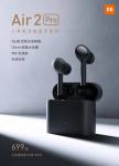 79 يورو مع كوبون لـ Xiaomi Air 2 Pro TWS Bluetooth Earbuds Wireless Earbuds Active Noise Cancellation LHDC Tap Control 3 Mic Sport Headphone Headset من BANGGOOD