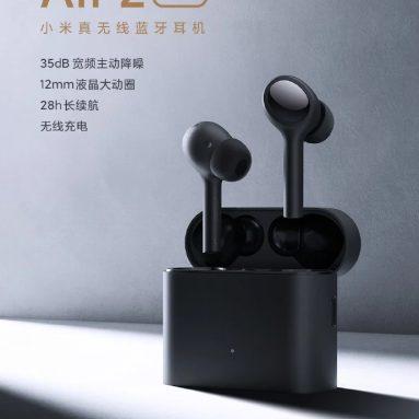 € 79 쿠폰으로 Xiaomi Air 2 Pro TWS 블루투스 이어폰 무선 이어 버드 액티브 소음 제거 LHDC 탭 컨트롤 3 마이크 스포츠 헤드폰 헤드셋 from BANGGOOD