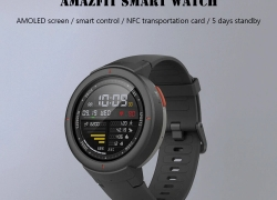 €117 with coupon for AMAZFIT Verge Smart Watch Xiaomi Ecosysterm Product  – CARBON GRAY from GearBest