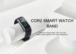 $39 with coupon for Original Amazfit Cor2 Smart Wristband International Version ( Xiaomi Ecosystem Product ) from GEARBEST