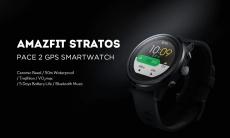 110 € s kupónom na športové hodinky AMAZFIT Stratos Sports 2 GPS 1.34 palca, 2.5D obrazovka, 5ATM náramok, medzinárodná verzia zo skladu EU CZ BANGGOOD
