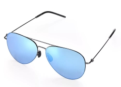 $46 with coupon for Xiaomi Anti-UV Polarized Sunglasses TS Nylon Lens  –  STONE BLUE from GearBest