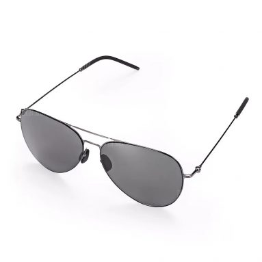 $23 with coupon for Xiaomi Anti-UV Polarized Sunglasses TS Nylon Lens  –  GUN METAL FRAME + GREY LENS from GearBest
