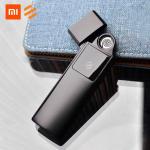 € 7 쿠폰으로 Xiaomi Beebest USB 충전 초박형 라이터 터치 스위치 방풍 담배 가제트 남성은 ALIEXPRESS의 화재 방지 전자 라이터를 보호합니다
