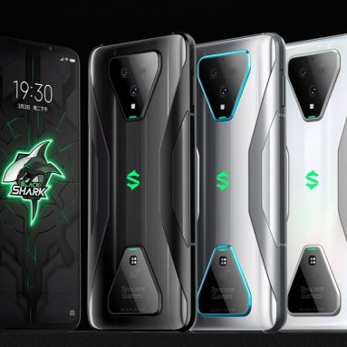 €381 with coupon for Xiaomi Black Shark 3 Global Version 6.67 inch 90Hz 64MP Rear Cameras 8GB 128GB 65W Fast Charge 4720mAh Snapdragon 865 5G Smartphone from BANGGOOD