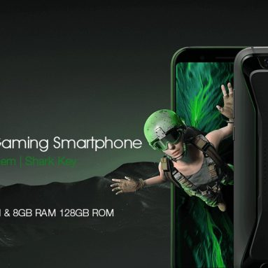 €425 with coupon for Xiaomi Black Shark 4G Phablet 8GB RAM 128GB ROM Global Version from GearBest