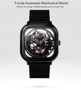 $152 with coupon for Xiaomi CIGA Automatic Mechanical Watch – BLACK from GearBest