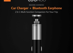 $ 22 với phiếu giảm giá cho Xiaomi CooWoo BC200 2 trong Bộ sạc xe hơi USB 1 Tai nghe không dây Bluetooth từ GEARVITA