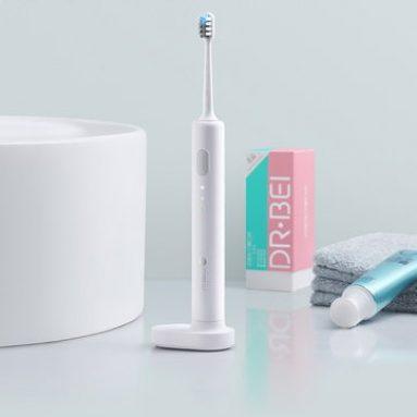 $ 19 com cupom para Xiaomi Doctor BET-C01 2 Brush Modes Essence Sonic Elétrica Wireless USB de BANGGOOD