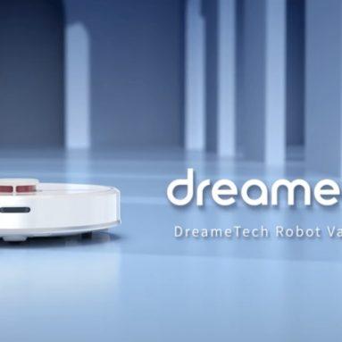 EU倉庫GEEKMAXIのXiaomiDreameD268ロボット掃除機のクーポン付き€9