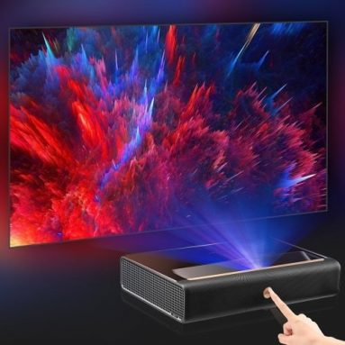 2283 € med kupong for Xiaomi Ecosystem WEMAX L1668FCF 4K ALPD Ultra Short Throw Laser Projector EU CZ WAREHOUSE fra BANGGOOD