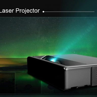 €1589 with coupon for WEMAX ONE PRO FMWS02C ANSI Lumens Laser Projector – MIRROR BLACK from GearBest