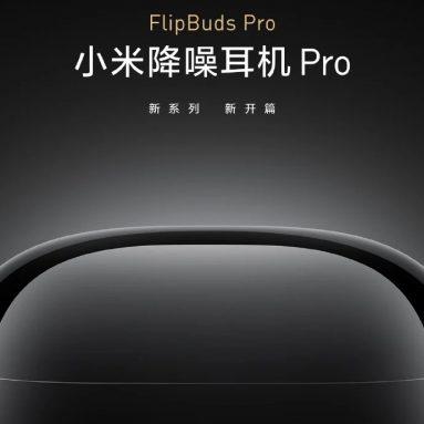 € 131 med kupong for Xiaomi FlipBuds Pro Bluetooth 5.2 ANC TWS Ørepropper Aktiv støyreduksjon Qualcomm QCC5151HiFi APT-X Dynamic Mic 28H Batterilevetid fra GEEKBUYING