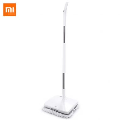 $109 with coupon for Xiaomi Handheld Electric Mop White from GearBest