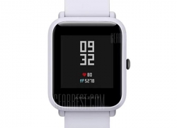 $55 with coupon for Xiaomi Huami AMAZFIT Bip Lite Version Smart Watch  –  INTERNATIONAL VERSION  LIGHT GRAY from GearBest