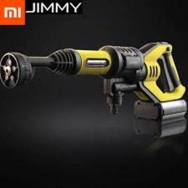 € 109 với phiếu giảm giá cho súng máy rửa xe không dây cầm tay áp suất cao Xiaomi JIMMY từ BANGGOOD