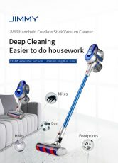 €241 with coupon for Xiaomi JIMMY JV83 Cordless Stick Vacuum Cleaner 135AW Suction 60 Minute Run Time – Global Version from BANGGOOD