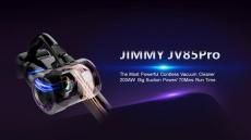 € 257 JIMMY JV85 के लिए कूपन के साथ प्रो कॉर्डलेस फ्लेक्सिबल हैंडहेल्ड वैक्यूम क्लीनर 25000Pa सक्शन, 200AW स्ट्रॉन्ग सक्शन 70 मिनट रन टाइम LED डिस्प्ले एंटी-वाइंडिंग EU EU / HK वेयरहाउस से