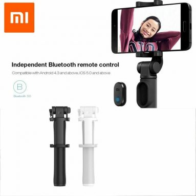 €11 with coupon for Xiaomi LYZPG01YM Portable Bluetooth Selfie Stick Mini Extendable Folding Tripod For iPhone XS Xiaomi 9 8 Redmi Huawei – Black from BANGGOOD