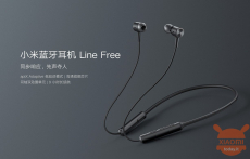 38 € med kupong för Xiaomi Line gratis bluetooth-hörlurar QCC5125 Apt Adaptive Low Latency Nackband-hörlurar Snabbladdning trådlöst headset från BANGGOOD