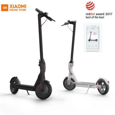 €299 with coupon for Xiaomi M365 Electric Scooter from BANGGOOD
