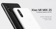 $459 with coupon for Xiaomi MI MIX 2S 4G Phablet 6GB RAM 128 ROM Global Version – WHITE from GearBest