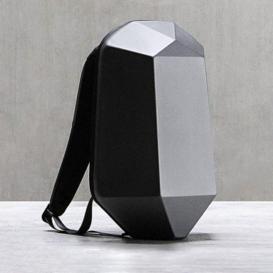 €20 with coupon for Xiaomi MIJIA BEABORN Polyhedron PU Backpack from BANGGOOD
