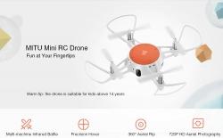 $ 50 MITU WiFi FPV 720P HD 카메라 미니 RC 무인 항공기 GEONVITA에서 쿠폰 제공
