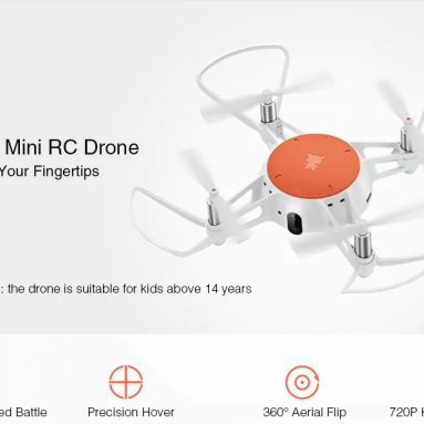 $50 with coupon for MITU WiFi FPV 720P HD Camera Mini RC Drone from GEARVITA