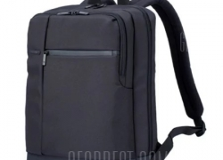 $23 with coupon for Xiaomi Men Classical Business Laptop Backpack  –  BLACK from GearBest