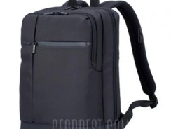 $19 with coupon for Xiaomi Men Classical Business Laptop Backpack  –  BLACK from GearBest